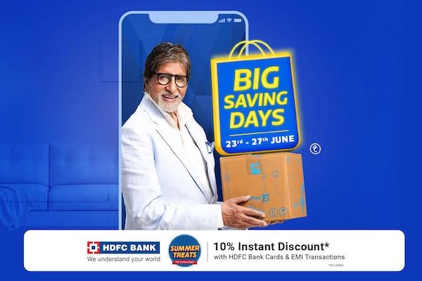Flipkart Big Saving Days Sale: Get Up To 80% OFF + 10% Extra Bank Offers