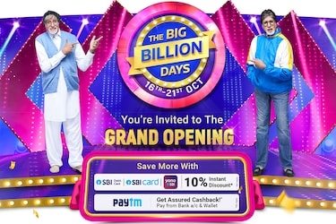 Flipkart Big Billion Days Sale 2020: EMI, Credit, Cashback and More in Store