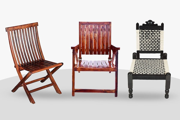 Handcrafted Wooden Folding Chairs: A Classy Relaxation Awaits