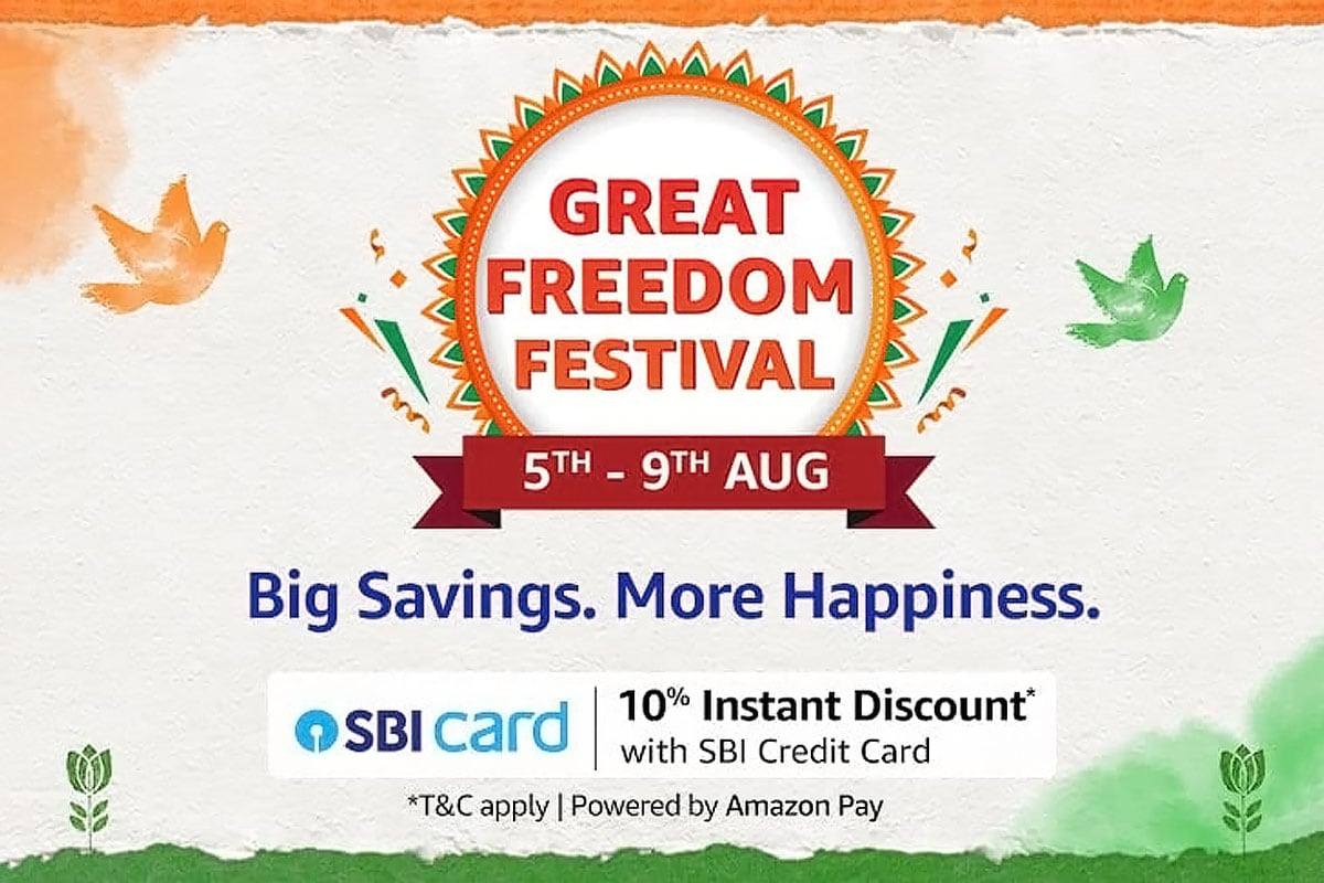 Amazon Great Freedom Festival 2021: Live Blog of the Latest Deals and Discounts