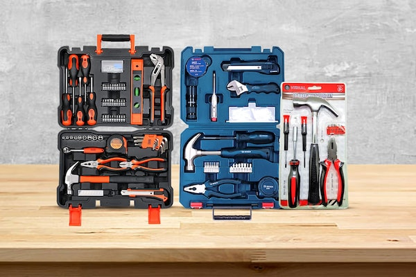 Hand Tool Kits From Famous Brands