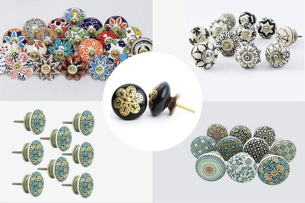 Pull Your Cabinets, Doors, And Drawers With These Fascinating Ceramic Knobs