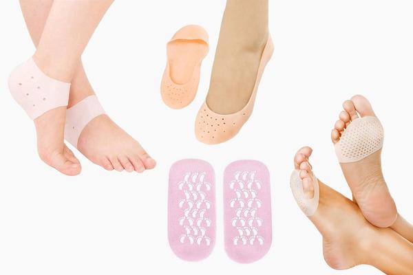Best Silicone Gel Socks For Healthy Crack-Free Heels
