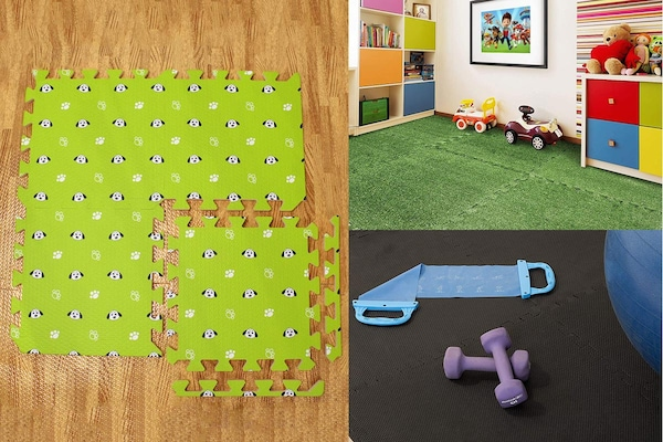 Interlocking Play Mats For Kids