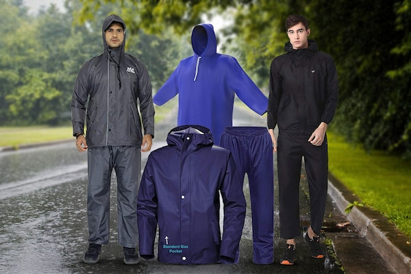 10 Best Raincoats For Men: Ensure Complete Protection From Rains!