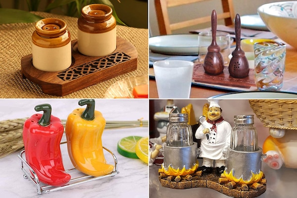 Spice Up Your Tableware With These Quirky Salt And Pepper Shakers
