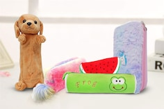 Best Plush Pencil Boxes For Kids: Playful Avatars Of Stationery Holders