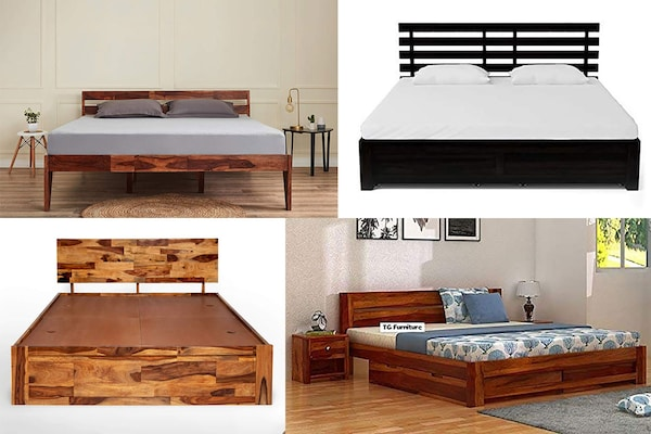 Give An Eye-Catching Look To Your Bedroom By Buying A Sheesham Bed