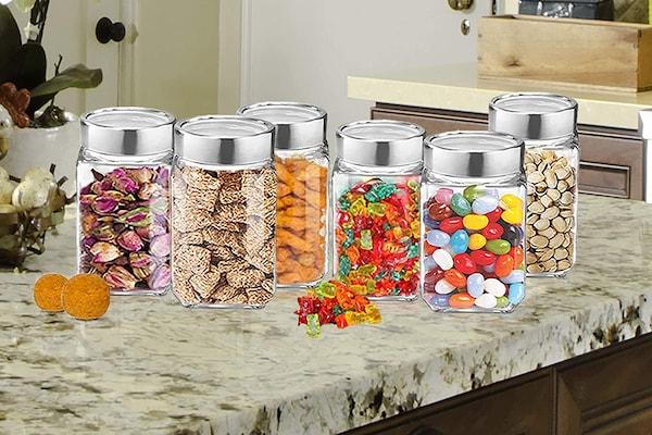 Glass Jar Sets For Storing Food