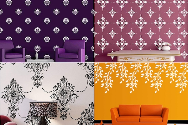 Best Designer Wall Stencils For A Hassle Free Makeover