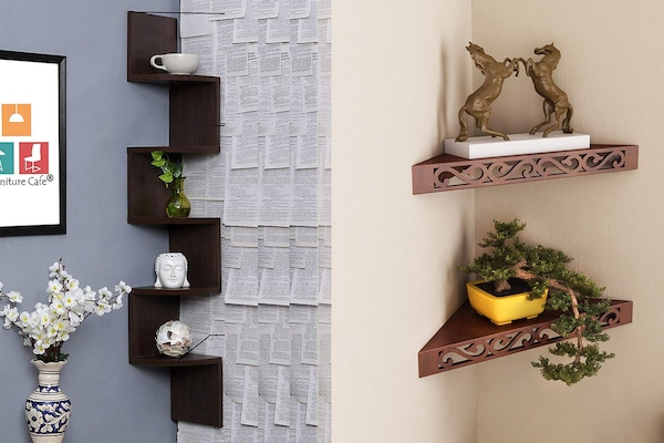 Wooden Corner Shelves: The Beautiful Essentials For Space-Efficient Home Decor