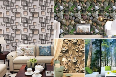 3D Wallpaper Stickers For Artistic Walls That'll Speak Through Your Hearts