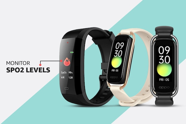 Fitness bands with SpO2 monitor