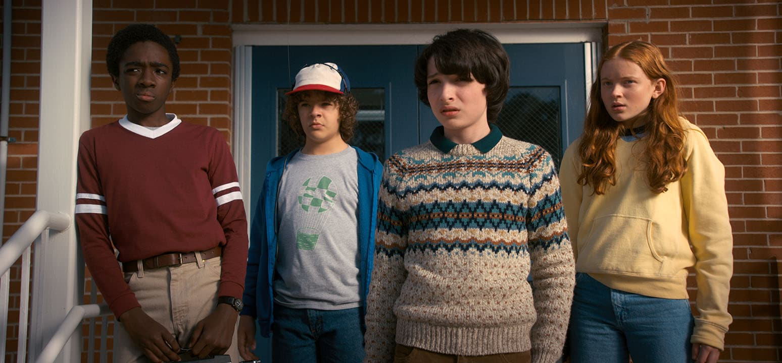 stranger things 2 lucas dustin mike max Stranger Things 2