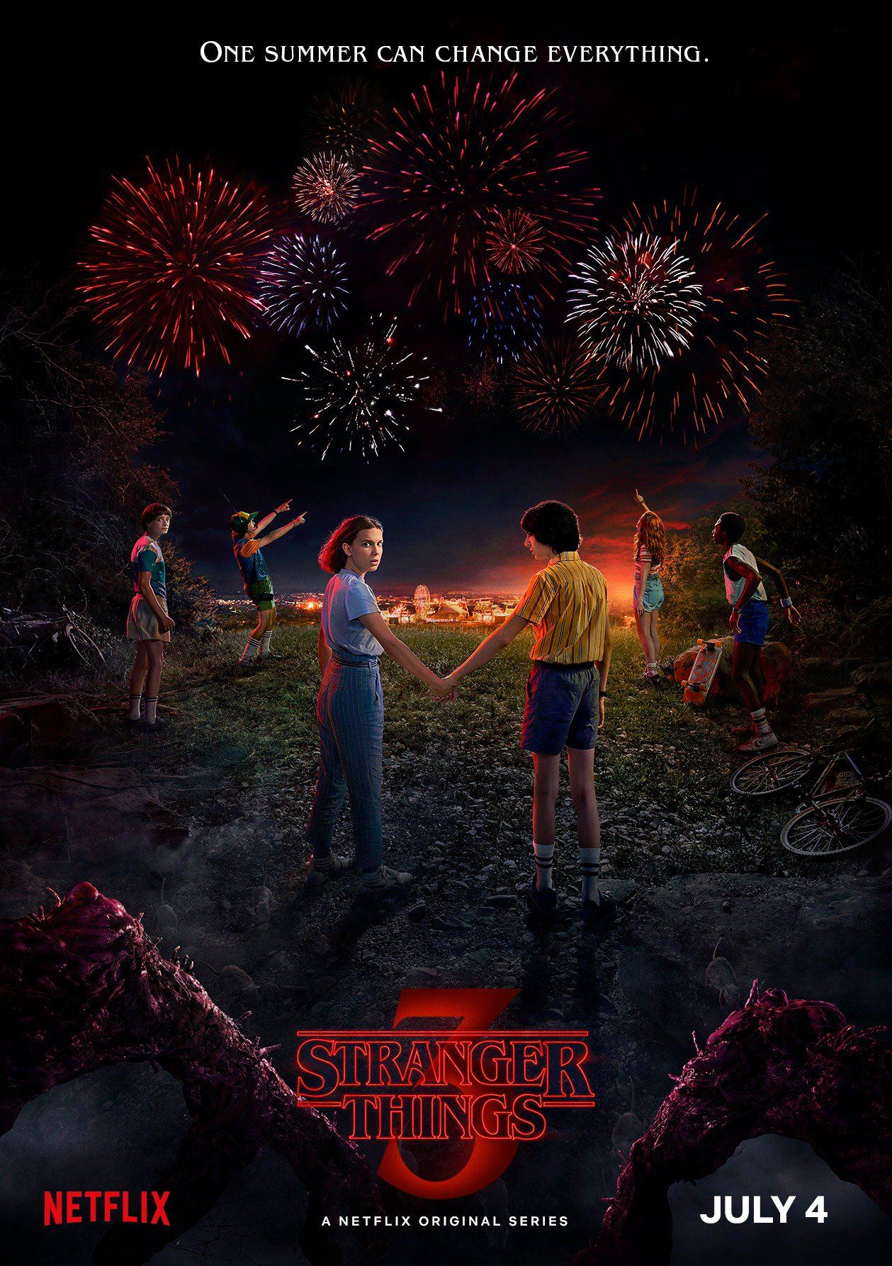 stranger things 3 poster Stranger Things 3