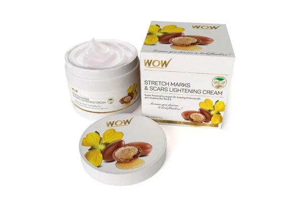WOW Stretch Marks & Scars Lightening Cream, best stretch mark removal cream