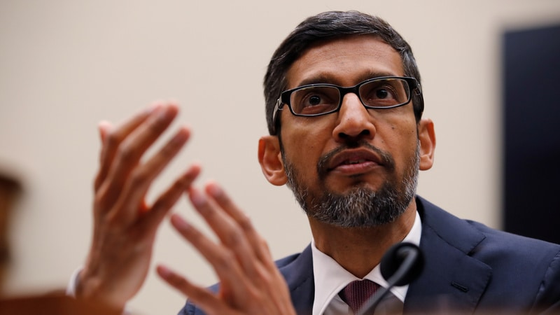 Google CEO Sundar Pichai Emerges 'Unscathed' From US Congress Hearing
