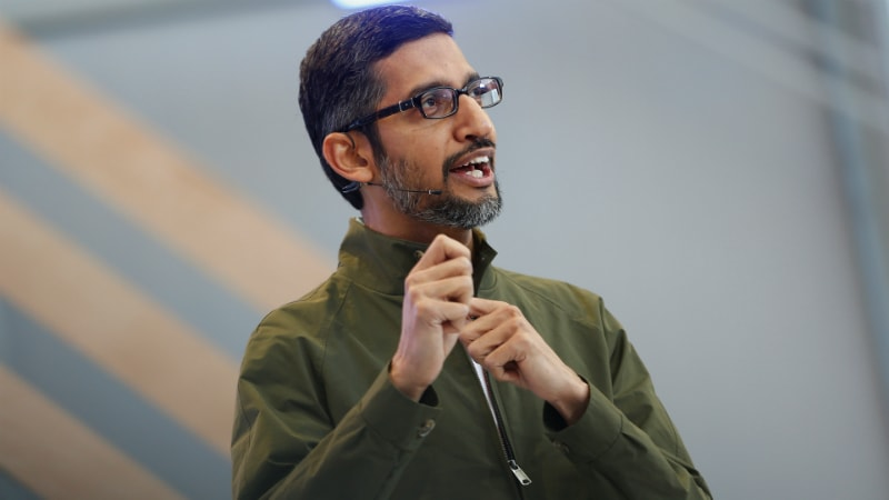 Google CEO Sundar Pichai Accepts Invitation to Meet Donald Trump, White House Says