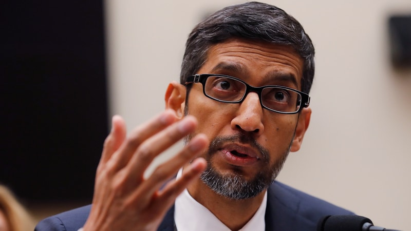 Google Has 'No Plans' to Launch Chinese Search Engine, Says CEO Sundar Pichai