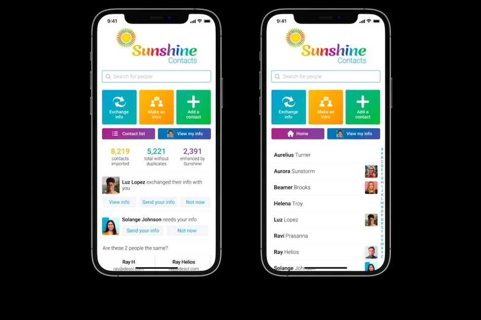 Former Yahoo CEO Marissa Mayer Makes Comeback With Sunshine Contacts App