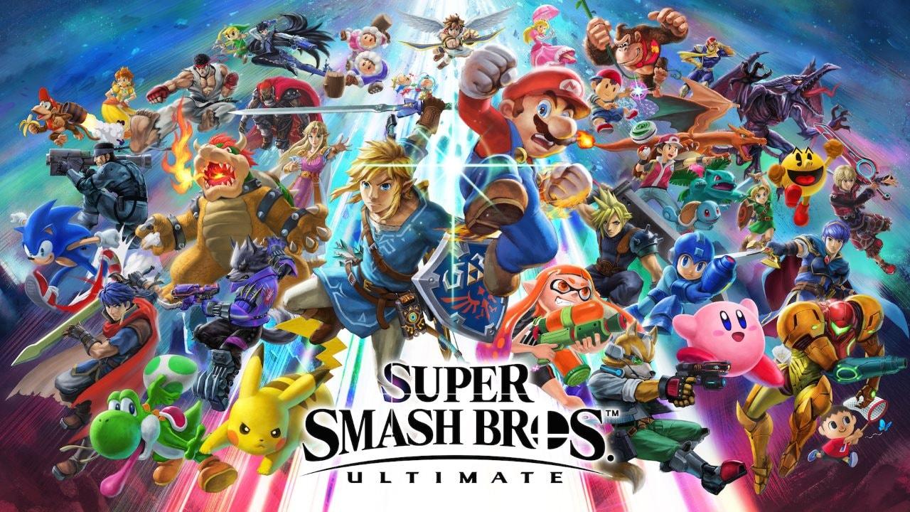 Super Smash Bros. Ultimate Download Size Revealed via Nintendo Japan eShop