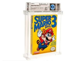 'Super Mario' Nintendo Video Game Cartridge Sold for Record $1.5 Million