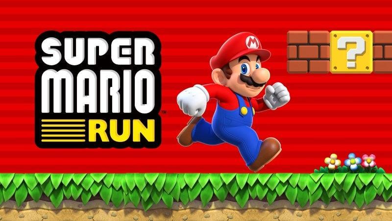 Super Mario Run Downloads Said to Break All Day One Records