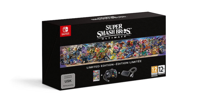 Smash Bros. Ultimate Limited Edition for Nintendo Switch Announced