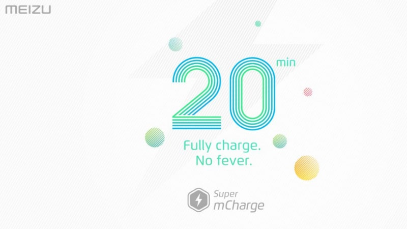 Meizu Unveils Super mCharge at MWC 2017; Fully Charges a 3000mAh Battery in 20 Minutes