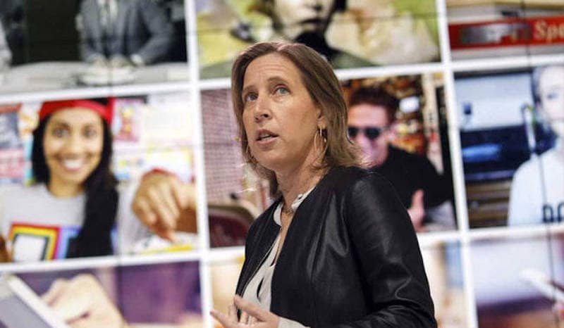 YouTube CEO Susan Wojcicki Speaks Up on Google Anti-Diversity Memo