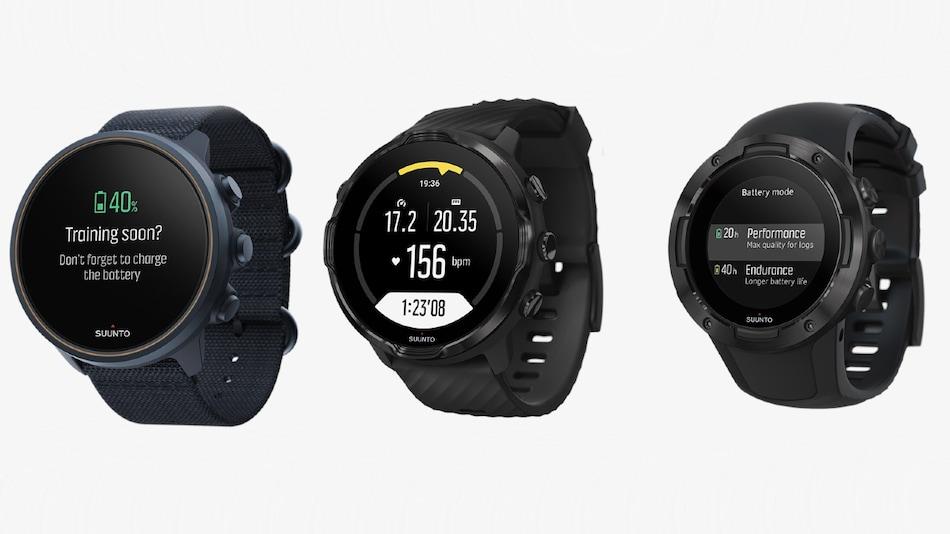 Suunto 9, Suunto 7, Suunto 5 Sports Smartwatches With GPS Launched in India
