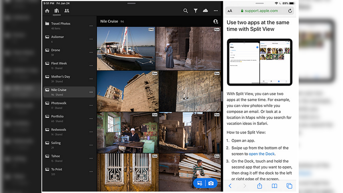 Adobe Lightroom Update Enables Split View in iPadOS Among Other New Features