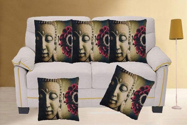 swasiya Jute Cushion Cover 1558079502834