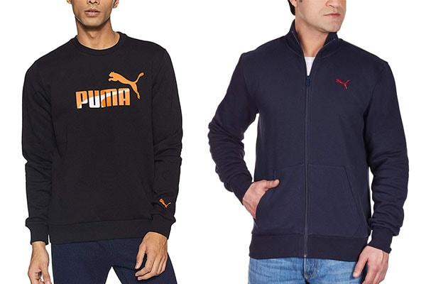 best sweatshirt brands in India Puma