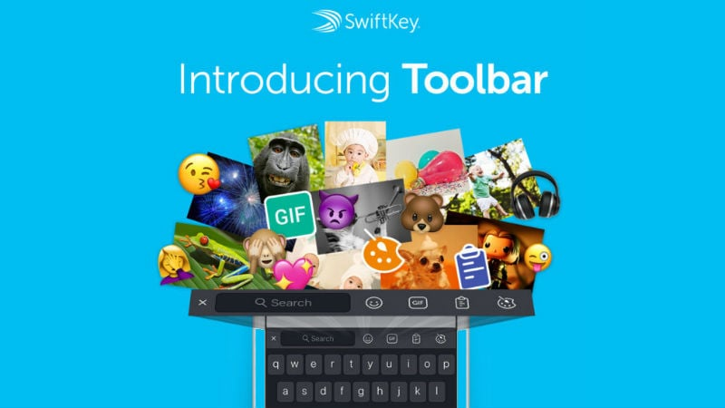 7b6baea7ef3 SwiftKey Gets Its Biggest Update Since Microsoft Acquisition, Includes New  Toolbar With GIFs, Emoji, and More