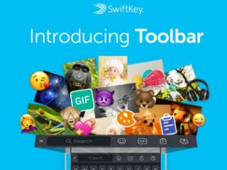 SwiftKey Gets Its Biggest Update Since Microsoft Acquisition, Includes New Toolbar With GIFs, Emoji, and More