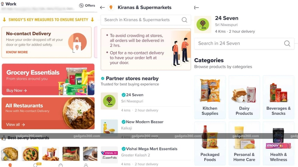 Swiggy Grocery Feature Launched in 125 Cities in India, Offers 2-Hour Delivery of Groceries