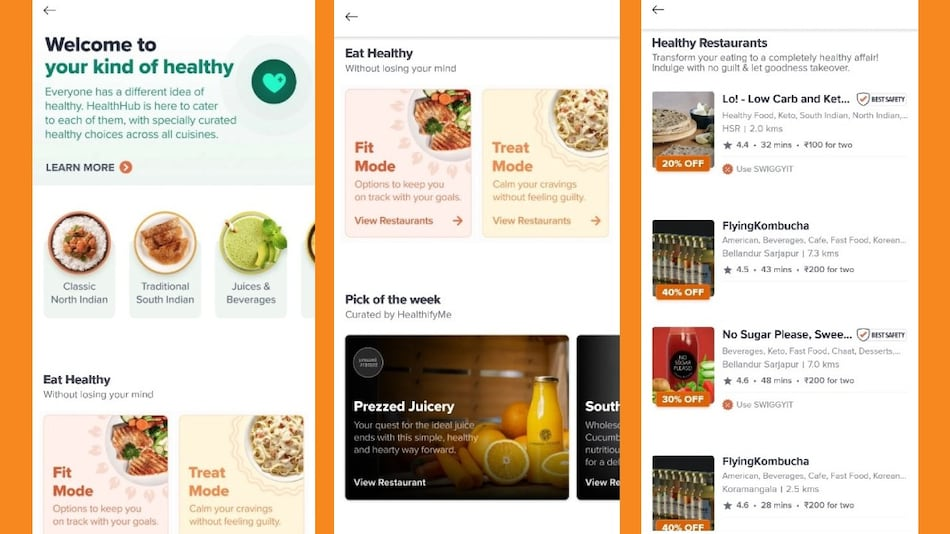 Swiggy Introduces Health Hub, Offering Curation of Healthy Menus and Nutrient Information