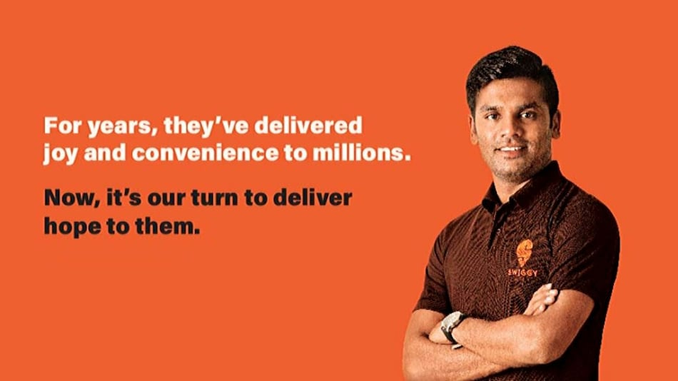 Swiggy Promises Financial Support to Coronavirus-Infected Delivery Partners