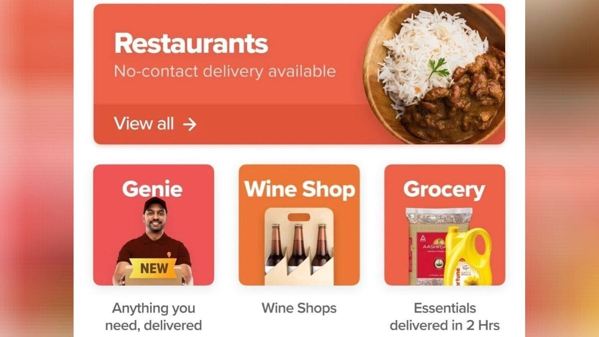 Swiggy, Zomato Start Doorstep Delivery of Alcohol in Ranchi Amid Coronavirus Pandemic