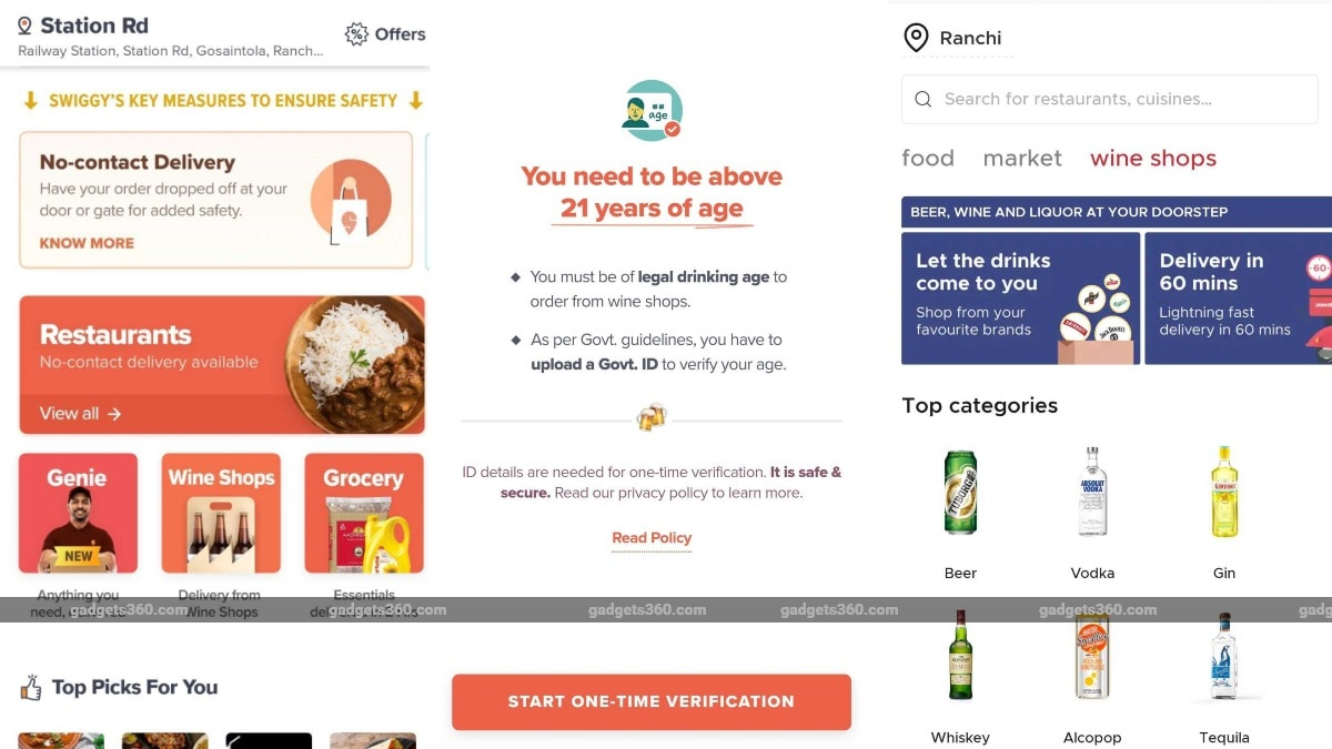 Apps, Online Services You Can Use to Buy Alcohol in India: 10 Points