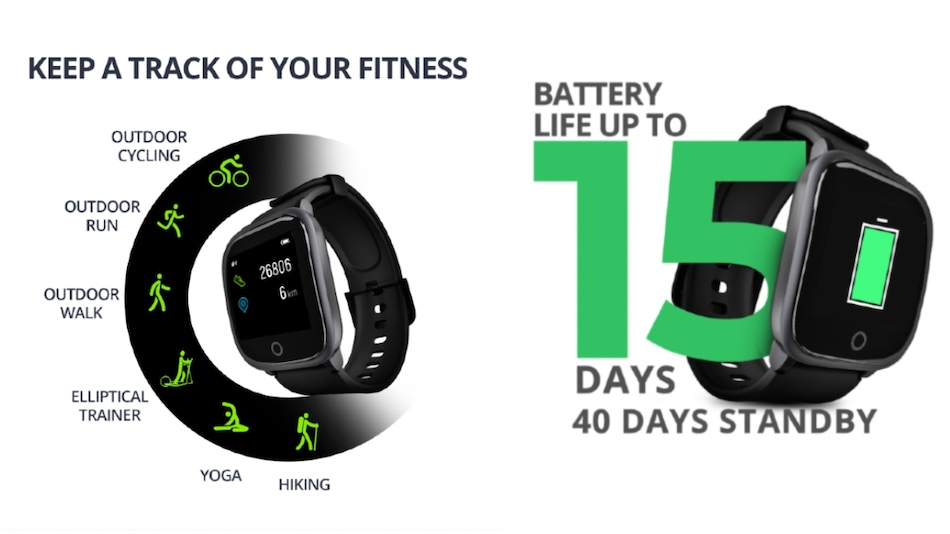 Syska SW100 Smartwatch With Heart Rate Sensor Launched in India at Rs. 3,999
