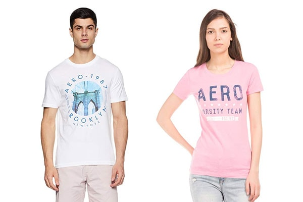 best t shirt brands in india Aeropostale
