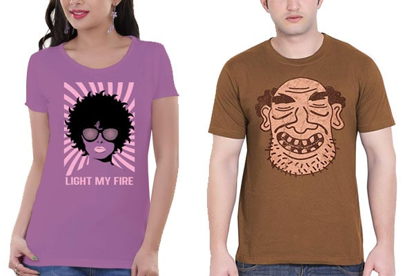 best t shirt brands in India tantra