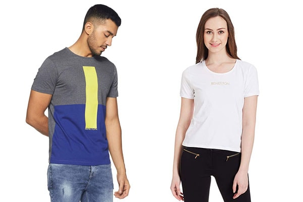best t shirt brands in india United Colors of Benetton