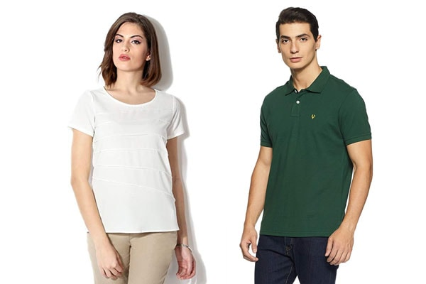 best t shirt brands in india Allen Solly
