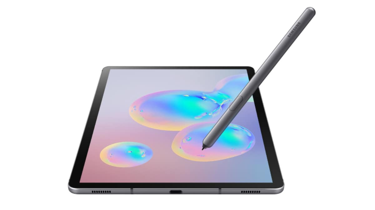 Samsung Galaxy Tab S6 With In-Display Fingerprint Sensor, S Pen Support, Quad Speakers Launched