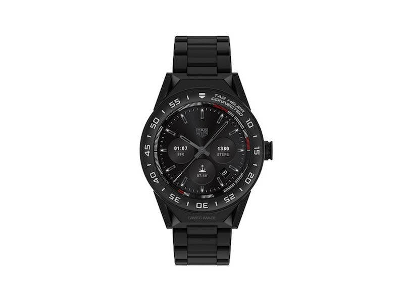 Tag Heuer Connected Modular 45 Android Wear 2.0 Smartwatch Launched