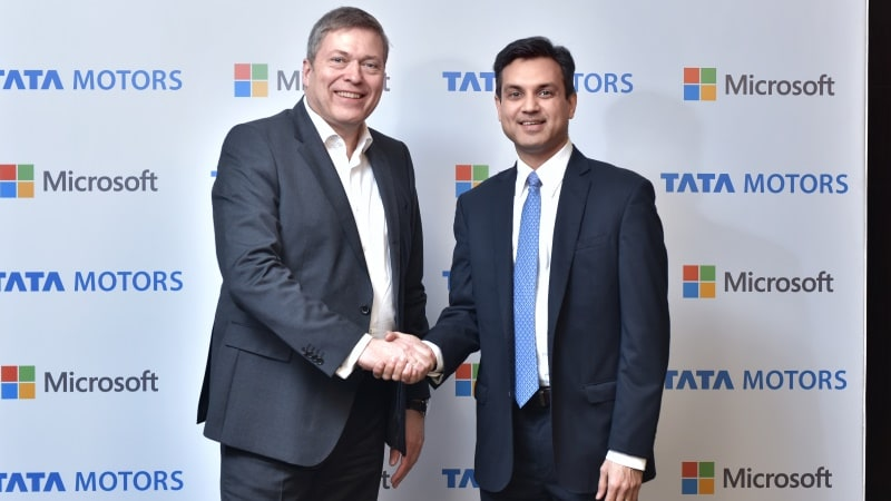 Microsoft, Tata Motors Ink Technology Collaboration Deal