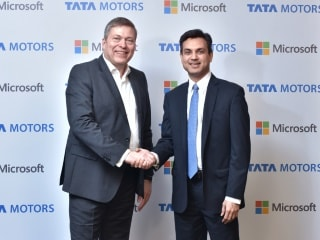 Tata Motors, Microsoft Sign Technology Collaboration Deal